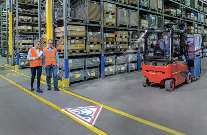 MATERIAL HANDLING WAREHOUSE SAFETY WORKERS