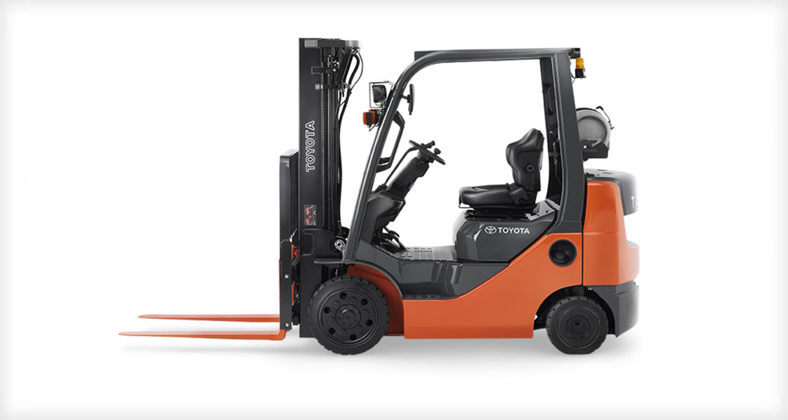5000lb Cushion Tire Forklift
