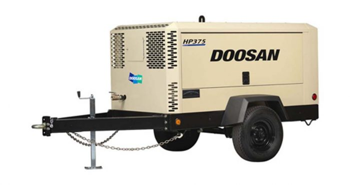 Doosan portable air compressor